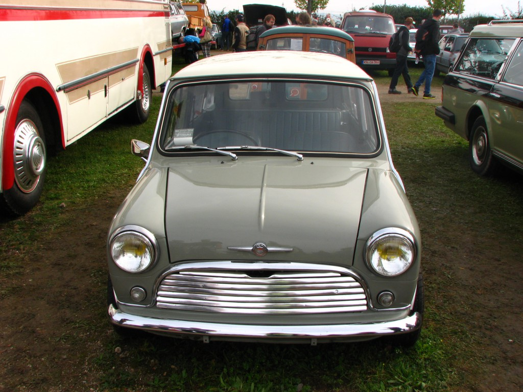 Mini Classic minifrogs Erbsle Veterama