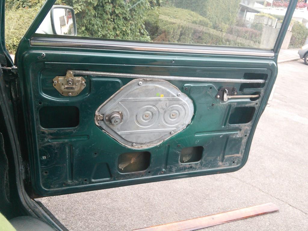 Mini Classic SPI 1995 minifrogs Erbsle Tür rechts ohne Verkleidung und Zierleiste