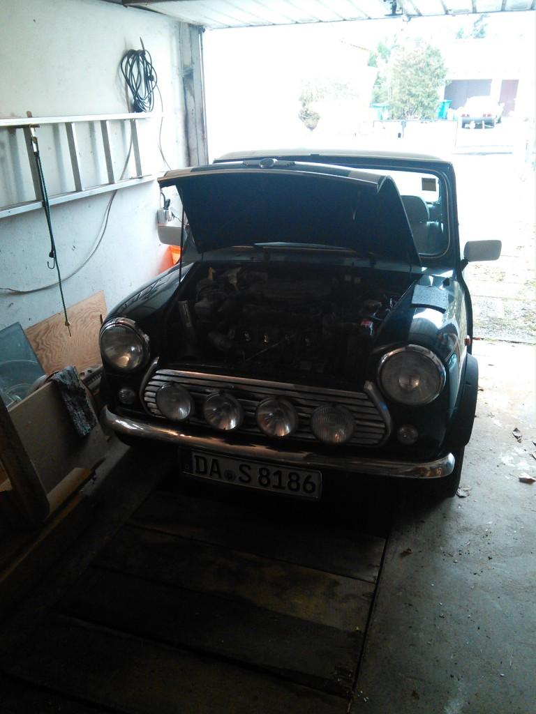 Mini Classic SPI 1995 minifrogs Erbsle Garage vorwärts