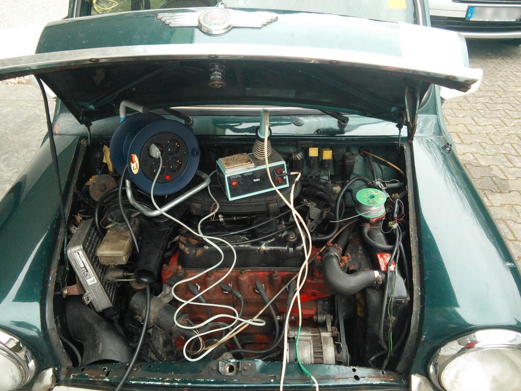 Mini Classic SPI 1995 minifrogs Erbsle löten