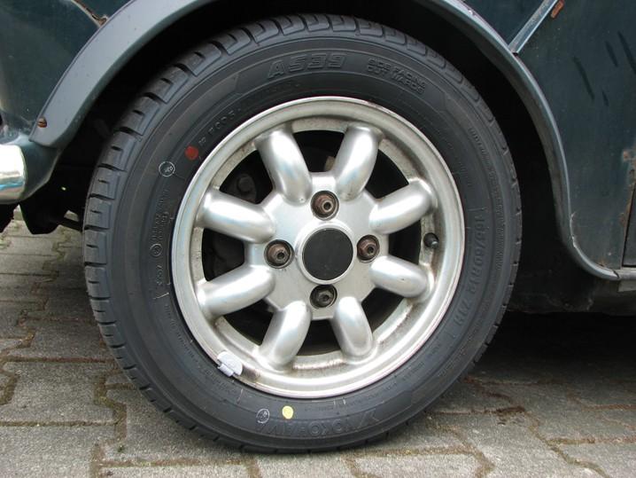 Mini Classic SPI 1995 minifrogs Erbsle Yokohama A539 165/60 R12 minilite Sommerreifen