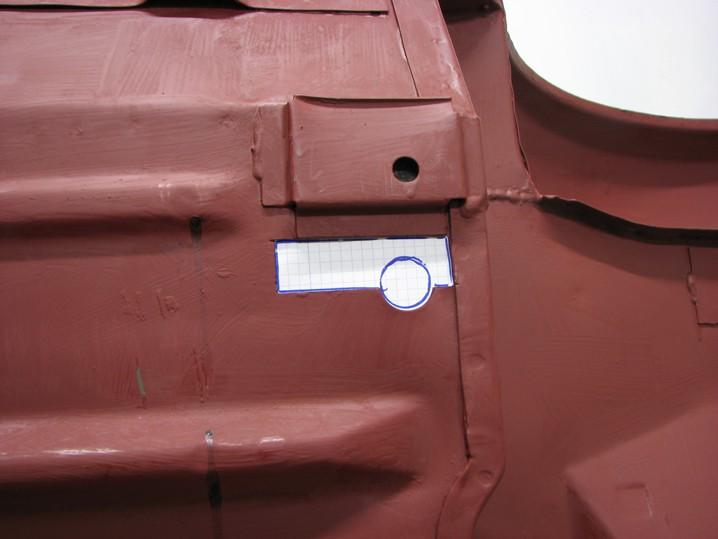 Mini Rover Classic SPI 1995 minifrogs Erbsle Bleche anpassen Unterboden Schablone Punktschweißen