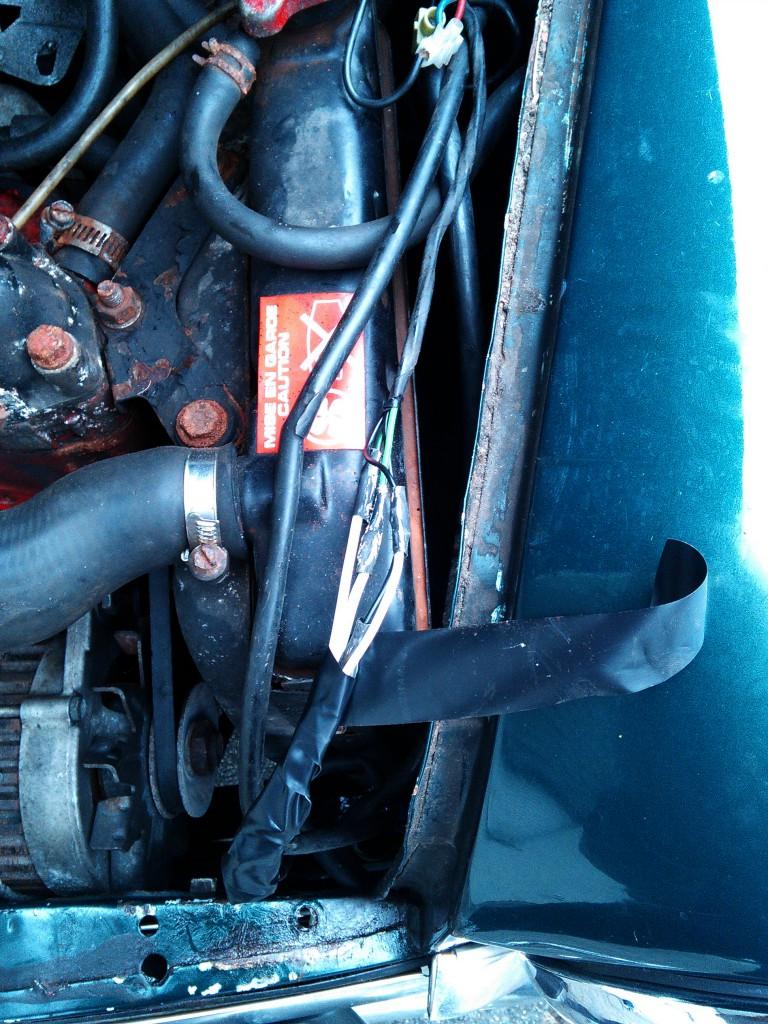 Mini Classic SPI 1995 minifrogs Erbsle Kabel Reparatur