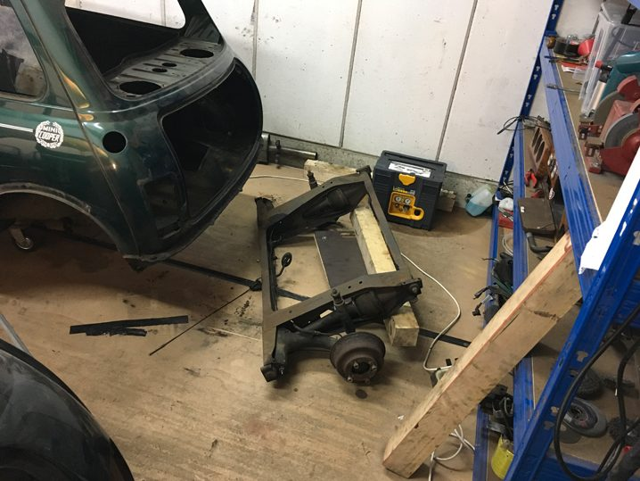 Mini Rover Classic SPI 1995 1993 Restauration minifrogs Erbsle